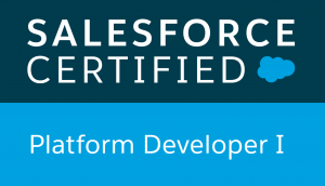 Certification Salesforce - Platform Developer I